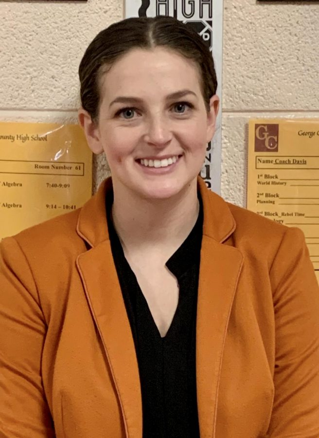 Math teacher, Makayla Smith joins GCHS staff.