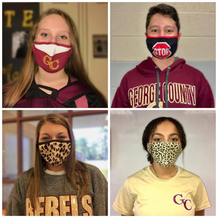 Students express style by wearing masks