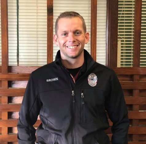 Officer Brown joins George County staff.