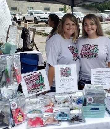 Erkhart sets up her business at Second Saturday.